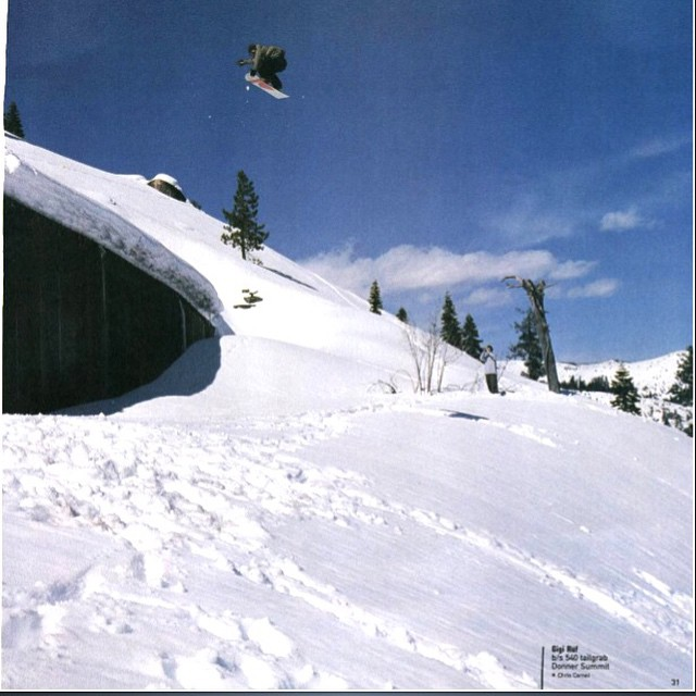 TBT to issue 49 sept 2001. @gigiruef airing off the…