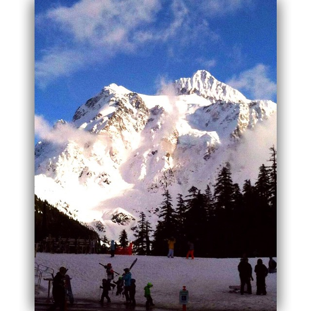 Mt Shuksan and the rest of Baker are doing their…