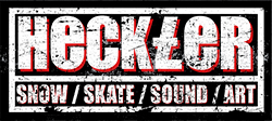 Heckler Magazine | Snow // Skate // Sound logo
