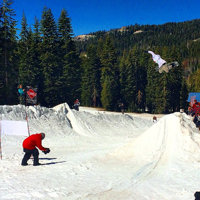 Great day out in the sun at ol' @borealmtn for…