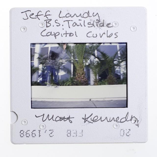 Jeff Landy with a misty backside tail back in 1998. ?: #mattkennedy (@hecklermalt)  #hecklerarchives #35mm #film #slidefilm