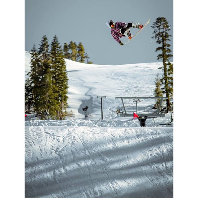 @christian_michael_m (who is he?) picking his nose at @borealmtn @woodwardtahoe last winter. ?: @blackchunder  #winterwillshowupsomeday