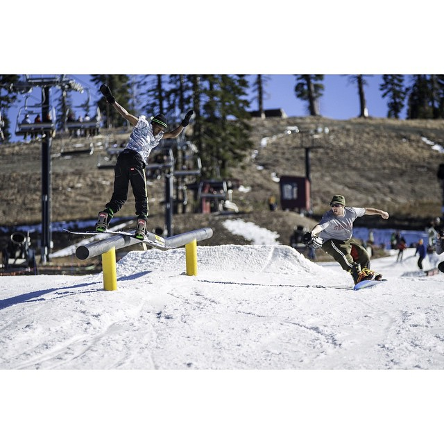 @borealmtn / @woodwardtahoe started spinning lifts yesterday. Check hecklermag.com for the photo recap.  Rider: @thad_tolbert ?: @kyle_beckmann ?steeze: @paulheran