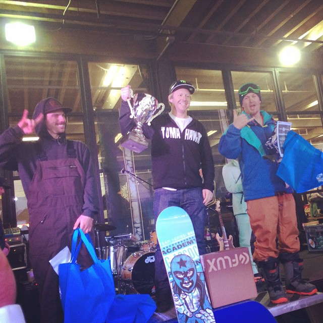 Congrats to the podium of the first annual Boreal Banked…