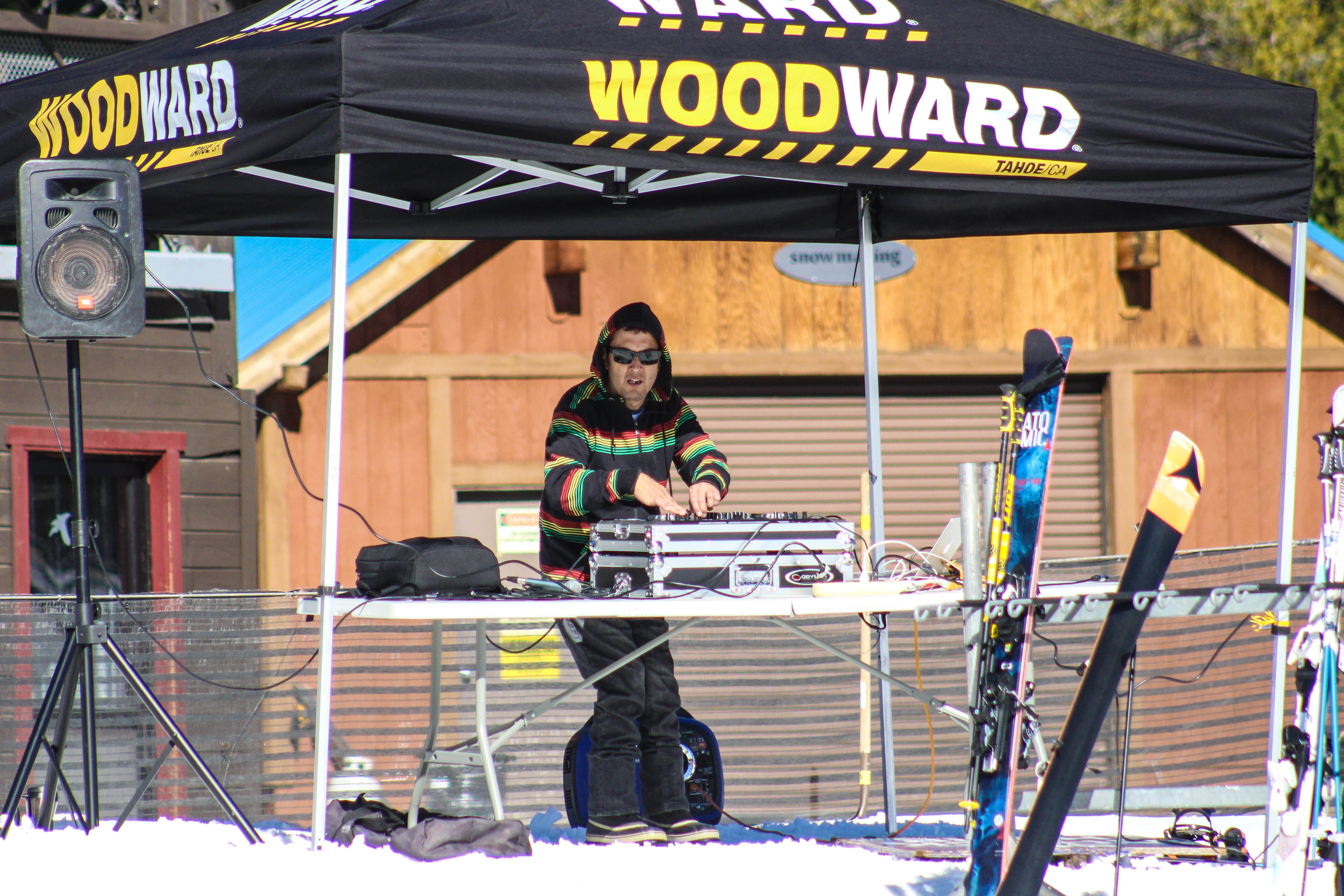 Whats an opening day at Boreal without DJ Paul ?!